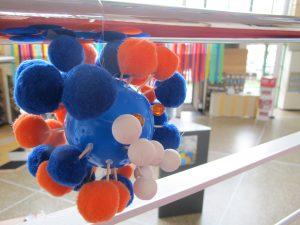 tentoonstelling in De Spil van de lagere graad tijdens het Hagelslagfestival in de herfstvakantie