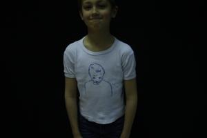 een T-shirtfilm!