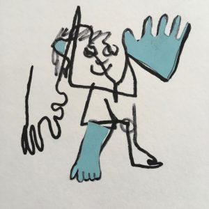 Gits tekent blind